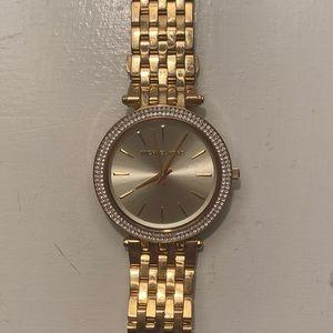 Micheal Kors gold watch!!